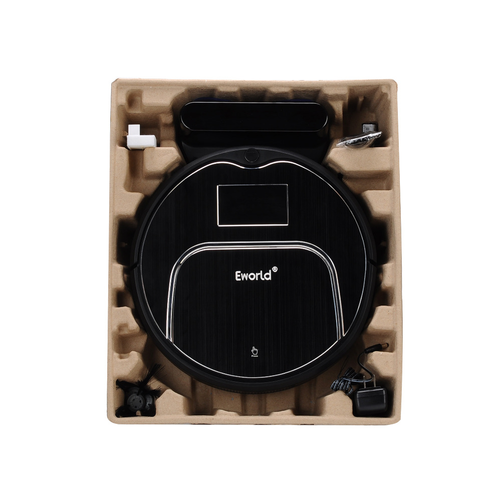 Eworld Wireless Vacuum Cleaner with Big Garbage Box , Big Mop,ABS and Aluminium Alloy Cleaning Robot M883 For Cleaning Floor(China (Mainland))
