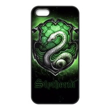 Harry Potter House Slytherin Case iPhone 4S 5S 5C 6 6S Plus Samsung Galaxy S3 S4 S5 Mini S6 Edge A3 A5 A7 Note 2 3 4 5 - In Season store
