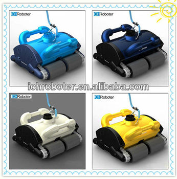 Swimming pool automatic cleaning robot, robotic swimming pool cleaner, swimming pool cleaning robot