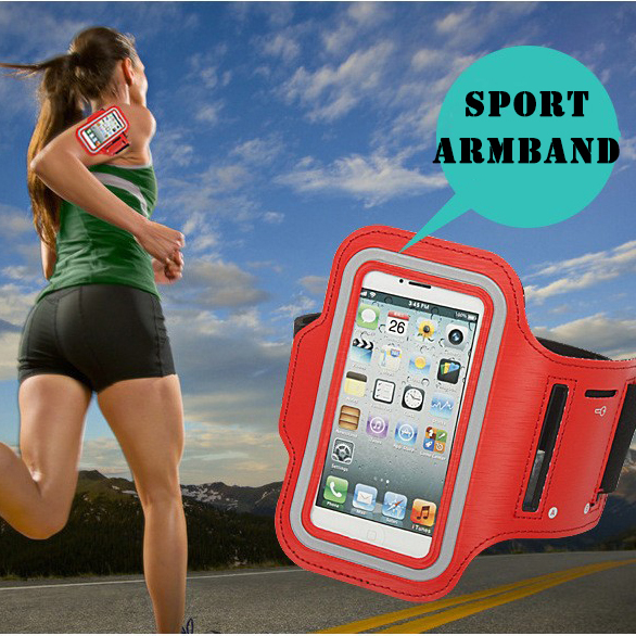 Waterproof Sports Running Jogging Gym Armband Pouch phone Holder for iPhone 4 4S 5 5s(China (Mainland))