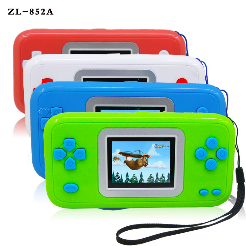 Electronic High Quality famous handheld HD display video pocket game player for Children Chrismas gift(China (Mainland))