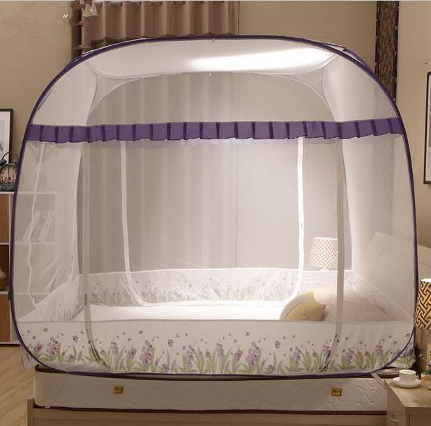 Compra gran cama con dosel online al por mayor de china - Mosquitera para cama ...