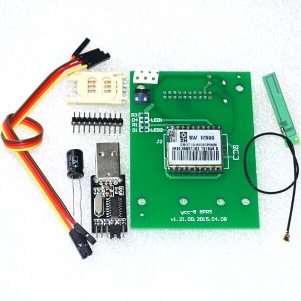 GSM GPRS 900 1800 MHz Short Message Service SMS module for project or Arduino remote sensing alarm(China (Mainland))