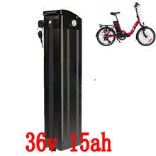More Discount Bottom discharge 500W 36V Scooter Electric Bike battery 36V 15AH lithium battery pack with 42V 2A charger and BMS(China (Mainland))