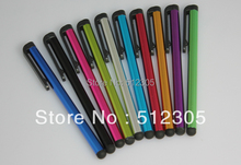 colorful capacitive stylus pen touch screen pen for ipad mini iphone 5S 5C Table pc DHL fast shipping(China (Mainland))