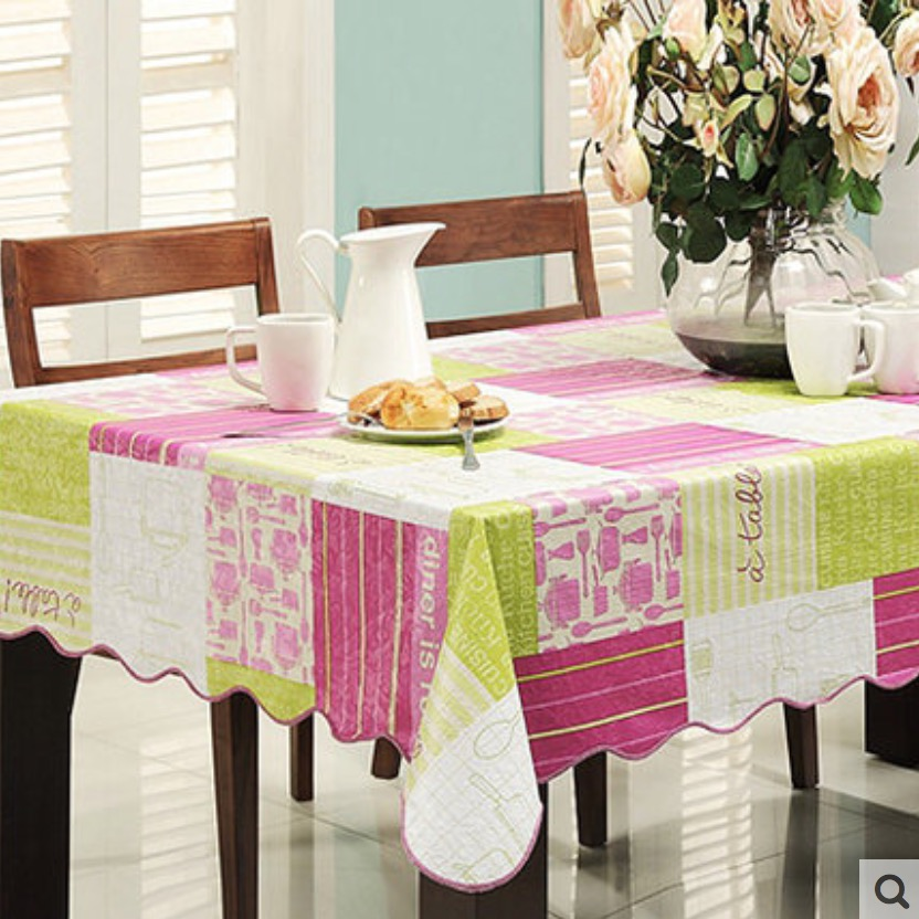 Flannel Backed Vinyl Pvc Tablecloth Plastic Waterproof