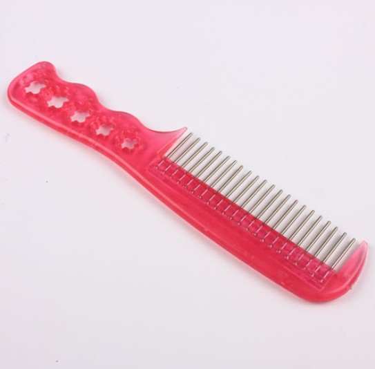5pcs Massage extension brush Special Hair Wig Hairpiece Care Small Steel Tooth Brush Comb Cool Anti-static(China (Mainland))
