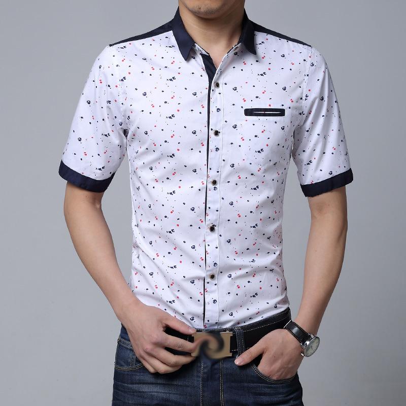все цены на Мужская классическая рубашка Fashion City 2015New 100% & Pocket 6XL SH-YHQ-0101 онлайн