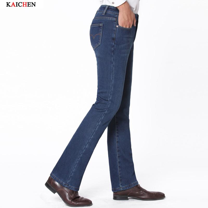 Pantalones Vaqueros Campana Hombre