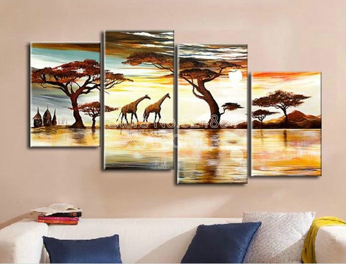 Great paint by number free shipping paintings giraffe and for Country living customer service number