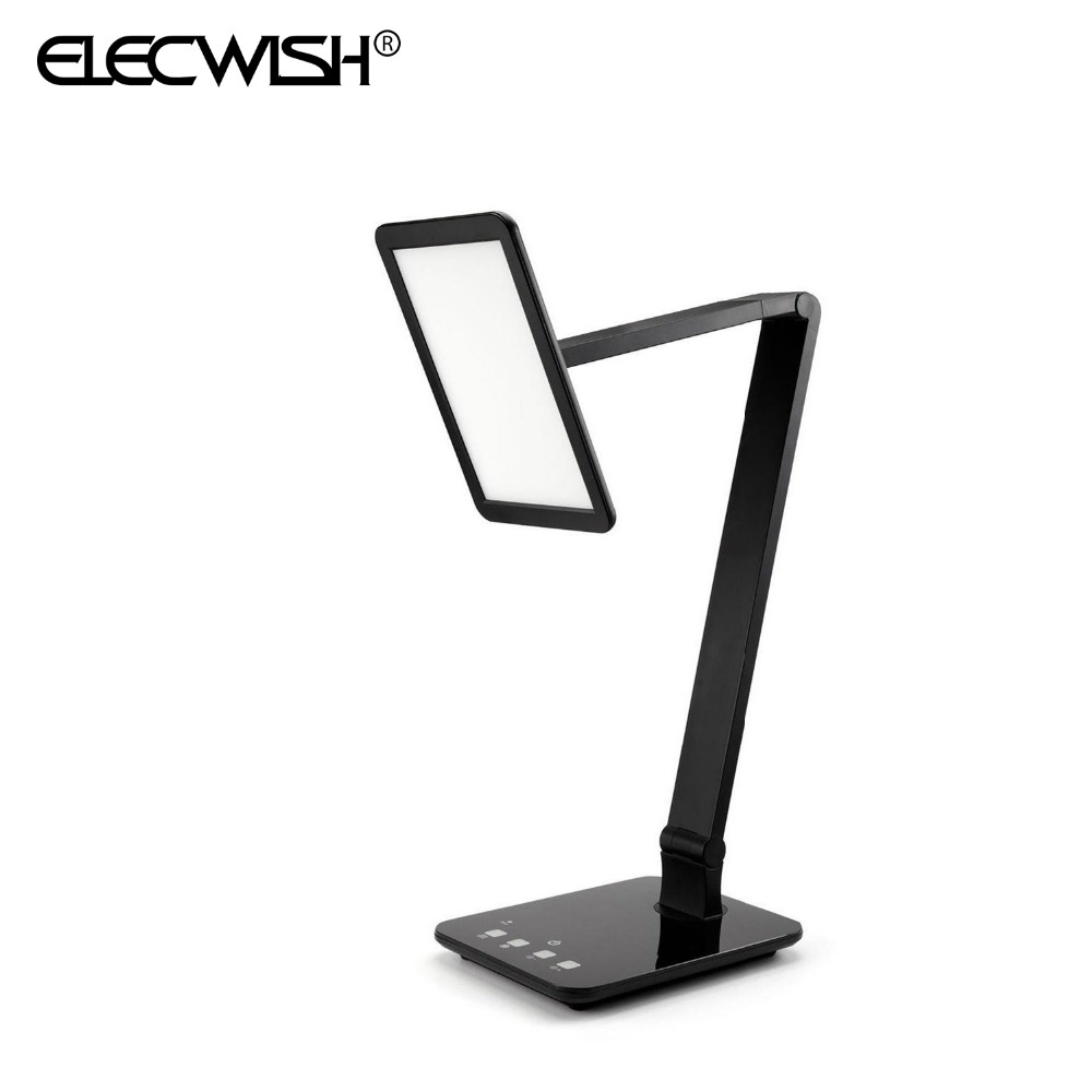 New Arrival Black LED Desktop Lamp 4 Lighting Modes Dimmer Control Colors Temperature Touch Sensitive Table Office Lights 10015<br><br>Aliexpress