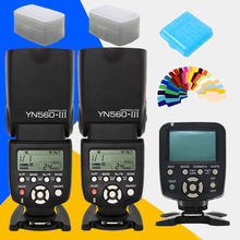 Buy YONGNUO YN560III YN560-III YN-560III Speedlite Flash YN560 III X2+ YN-560TX LCD Flash Controller YN560 TX Canon Nikon Camera for $160.50 in AliExpress store
