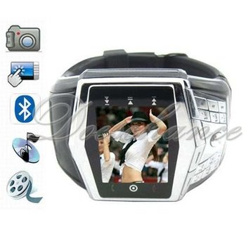 hot selling GD910 Quad Band Touch Screen Watch Cell Phone