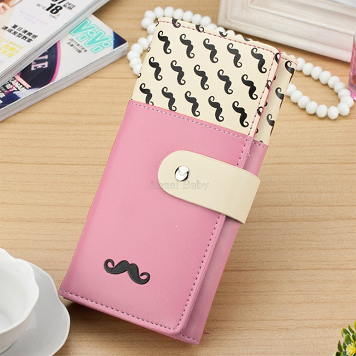2015 Billeteras Wallets Hasp Pu Wallets New Hot Sale Women High Quality Solid Button Leather Hand Bag Long Clutch Wallet Purse(China (Mainland))