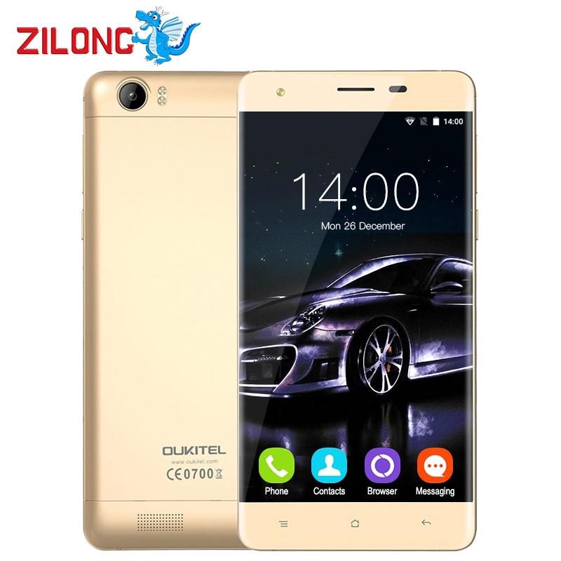 """Original 6000mAh Oukitel K6000 5.5"""" HD 4G LTE Mobile Phone Android 6.0 MTK6735P 1280x720 2G RAM 16G ROM GPS OTG 8MP Smartphone(China (Mainland))"""