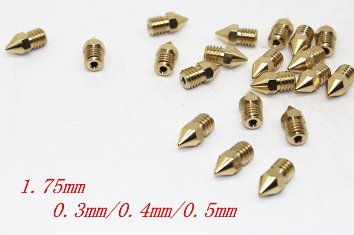 10 pcs Grinding Machine In Tapered Roller Bearing 3d Printer Accessories Reprap Diy Copper 1 75mm