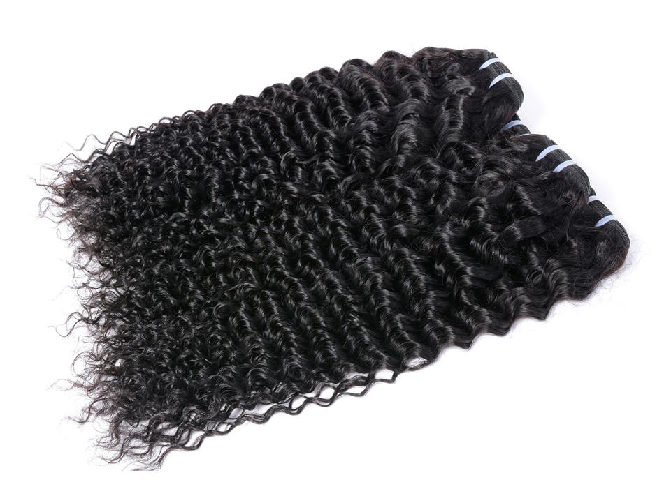 "Iwish Hair Peruvian Curly Hair 100% Human Hair Weave Bundles Natural Black 100g/pc Non Remy Hair Extension Free Shipping 10-28"""