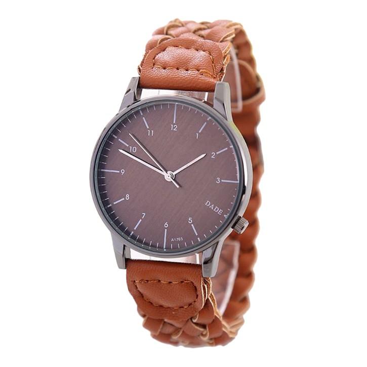 New Vintage Fashion Women Watch Luxury Weave Genuine leather Strap Casual Quartz Wristwatch Ladies Clock Relogio Feminino<br><br>Aliexpress