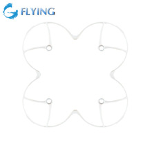 White Rotor Blades Protection Cover Ring Guard Bumpers for Hubsan R/C H107C X4 Mini Quadcopter