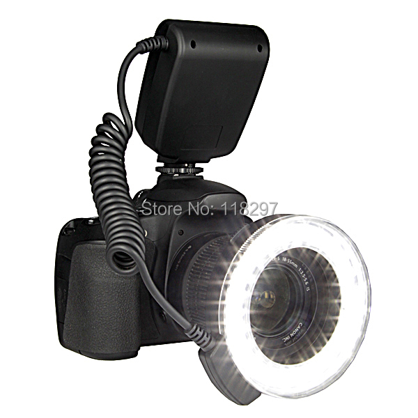 RF-550D Macro LED Ring Flash for Canon,for Nikon,for Olympus,for Panasonic,for Pentax DSLR <br><br>Aliexpress