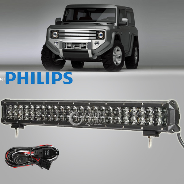22 Inch 240W Offroad for Philips LED Work Light Bar 12V Combo Spot Flood Lamp 4x4 Truck Trailer ATV Car Roof Front Driving Light(China (Mainland))