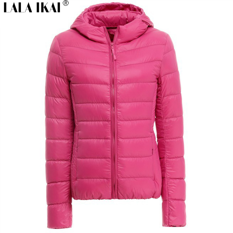 Women Down Coat Slim Fit Hooded Jacket Lady Down Outerwear Light Weight Plus Size 3XL 80% White Duck Down SWJ0050(China (Mainland))