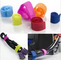 50Pcs Earphone Cable Winder Wrapped Sticky Adhesive Strap Organizer USB PC TV Cord Wire Plug Clip