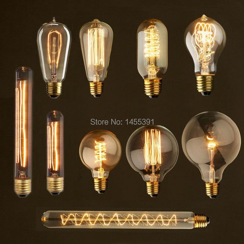 Ikea Badkamer Meubeltjes ~ Retro slaapkamer lampen  vintage edison lampen e27 gloeilampen voor
