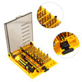 45 in 1 Screwdrivers Kit Kaisi multipurpose Precision Opening Repair Phone Tools Set for iPhone For