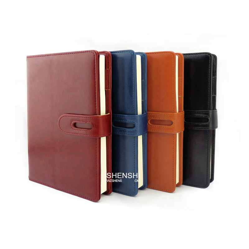 A5 Notepad Creative business leather notebook diary notebook custom LOGO<br><br>Aliexpress