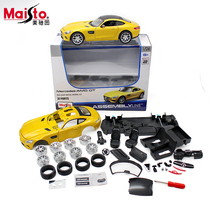 Maisto Mercedes Benz AMG GT 1:24 Scale Assembly Model Car Alloy Metal Diecast Toys Collection Baby Gift - AMoy WeiBen E-Commerce Co., Ltd. store