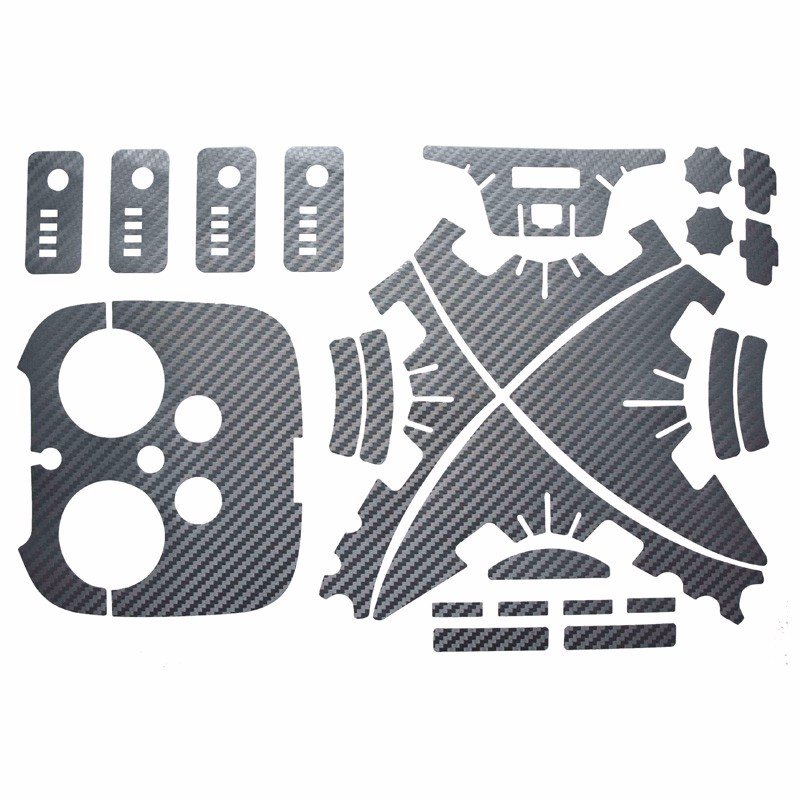 DJI Phantom 3 universal body and Remote controller HD stickers Drone UAV Stickers Accessories