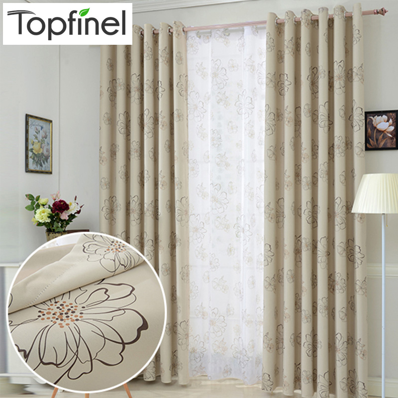 Top finel 2016 blinds modern flower window blackout for Best blinds for bedroom
