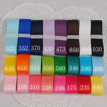 25mm satin ribbon 12 color