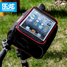 Roswheel bike bag accessories Handlebar basket bycicle cycling bags bicycle bag pannier for ipad mini 7 8 inch tablet pc(China (Mainland))