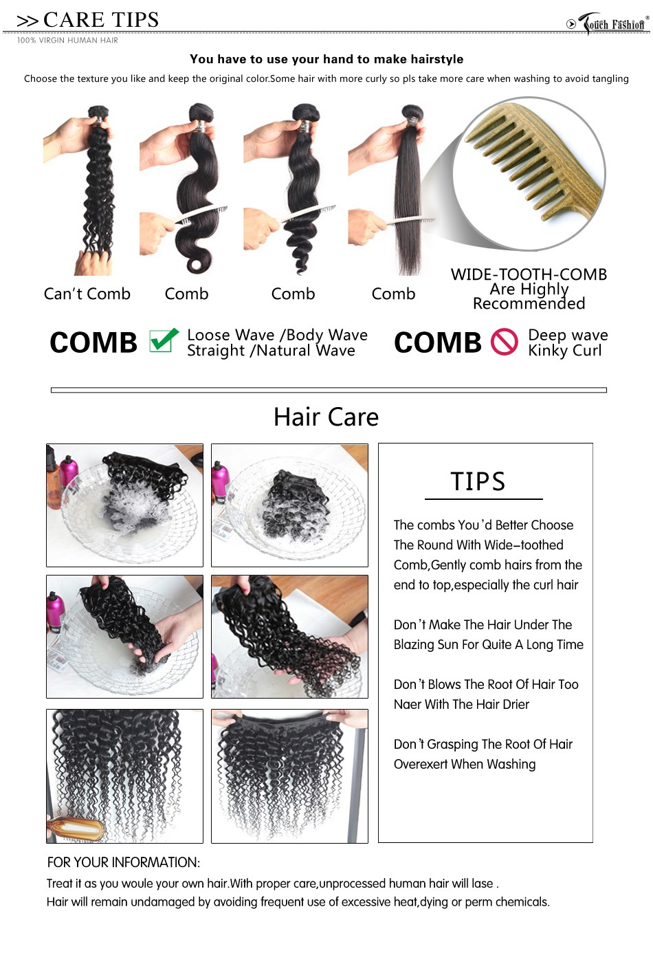 New Arrival Brazilian 100% Human Hair Clip Ins Afro Kinky Curly Clip Ins Extensions In Hair Weaves Natural Black Color 7 pcs/set
