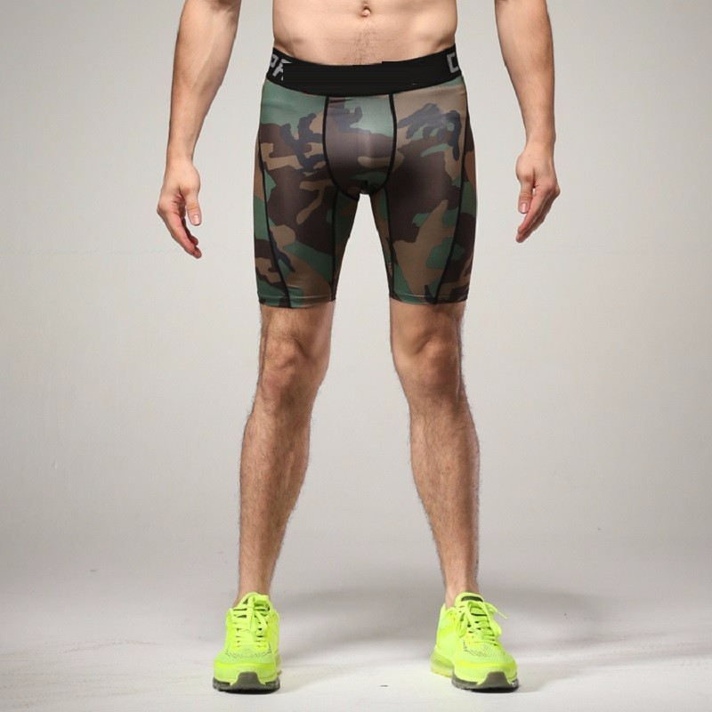 Tights Men Spandex Quick Dry Shorts (7)