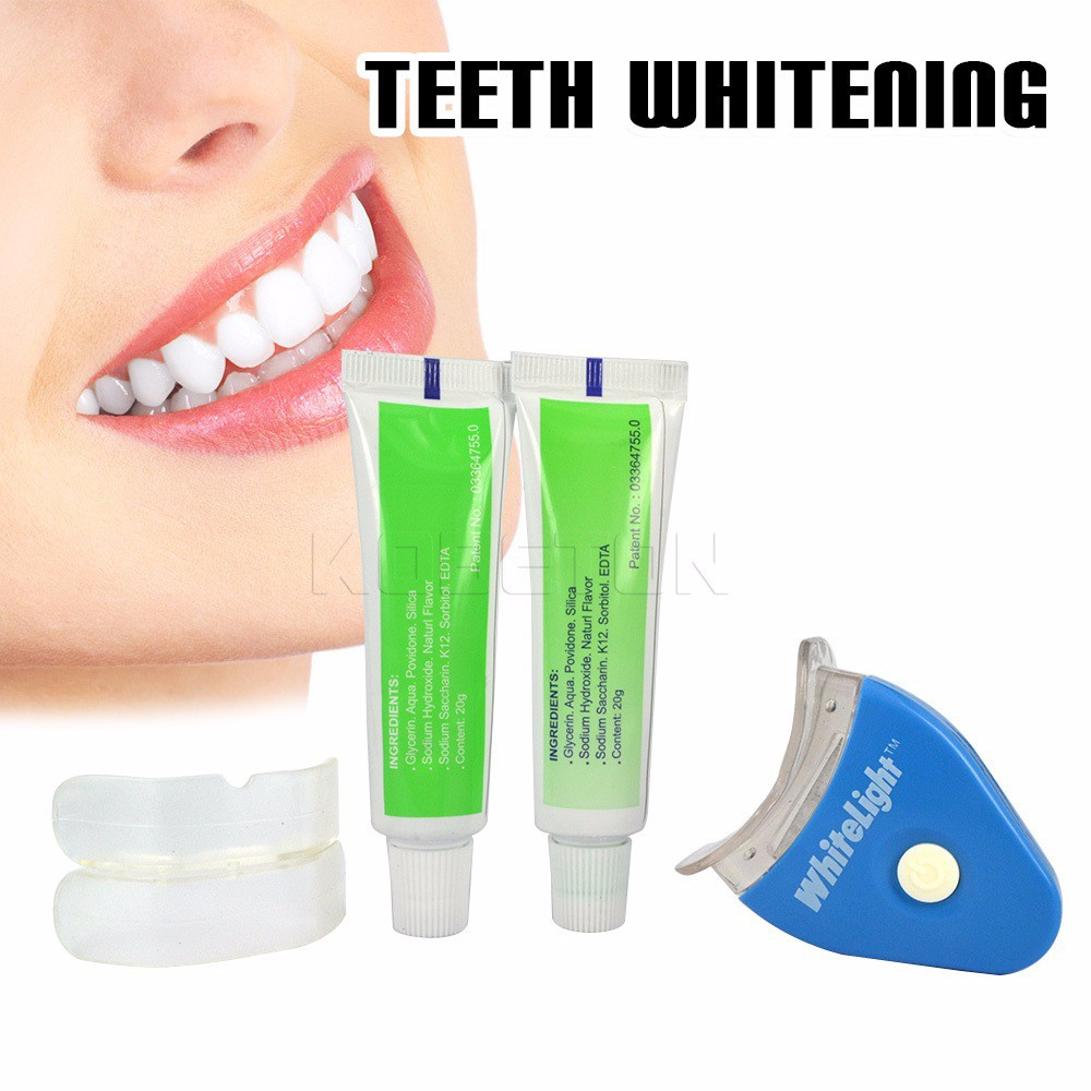 image for Hot Sale White Teeth Whitening Tooth Gel Whitener Health Oral Care Kit