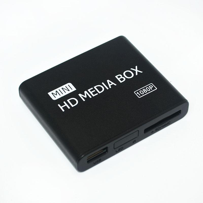 Full Multi TV Media Player HDMI 1080P HD USB SD MMC RMVB MP3 AVI MPEG Divx MKV Free Shipping!(Hong Kong)