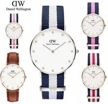 2015 new top brand daniel wellington watches women fashion luxury watch clock women dw quartz watch montre femme 36mm