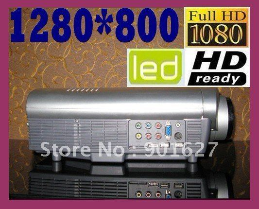 2600 Lumens Native 1280*800 Full HD LED Projector portable projector LCD LED Beamer