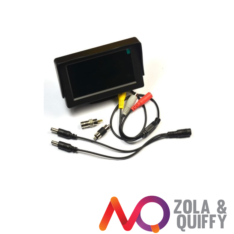 4.3 inch TFT LCD Audio Video Security Tester CCTV Camera Test Monitor(China (Mainland))