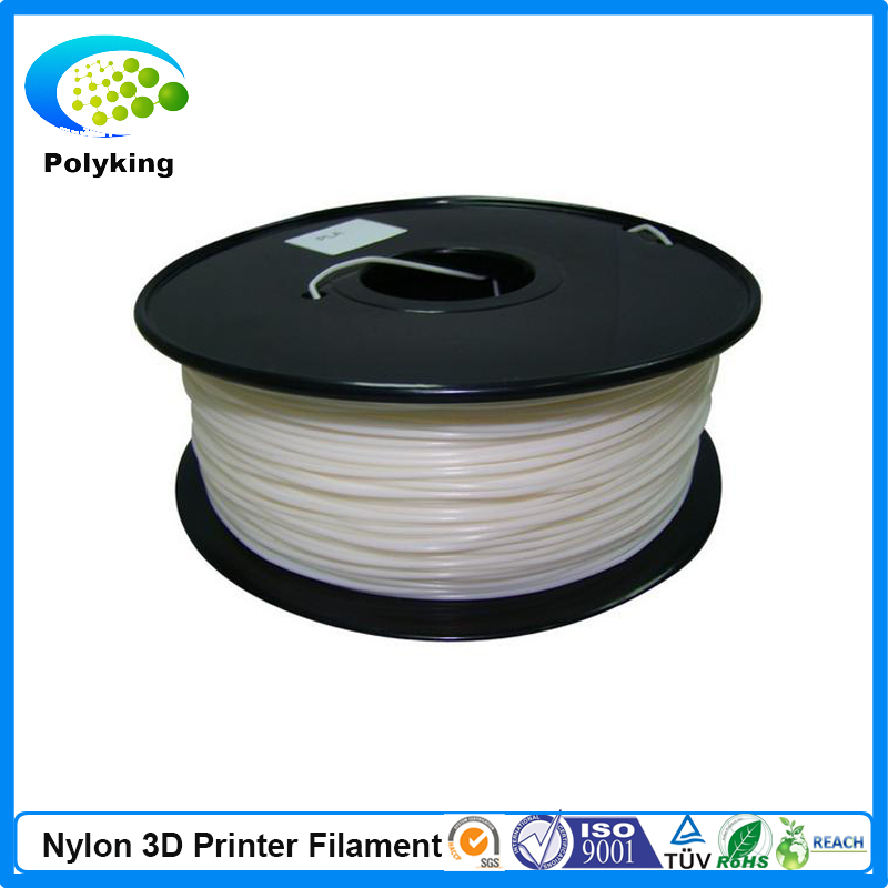 PA Nylon White Color 3D printer filament 1 75mm 3 0mm 1kg 2 2lbs Consumable for