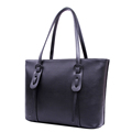 Fashion Drawstring Ornament Women Black Grey Tote Solid Color Large Capacity Shoulder Bag Ladies Succinct Designer