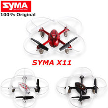 Syma X11 X11C mini rc drone Helicopter 4CH 2.4GHz 6-Axis Gyro drone with camera HD 2.0MP Quadcopter FTR Flash Lights
