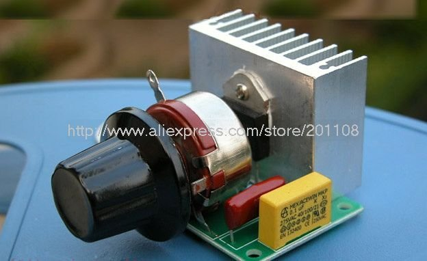 F114A 3800W SCR High-power Electronic Voltage Regulator / Dimming / Speed Control / Thermostat