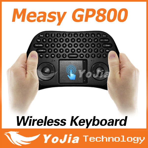 [Genuine] Measy GP800 Tochpad Air smart mouse QWERY Touchpad Handheld Keyboard high quality better than i8 Free Shipping(China (Mainland))