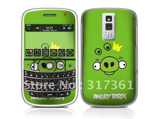 Skin sticker for mobile phone, sticker for Blackberry Bold 9000 from factory, OEM is available!(China (Mainland))