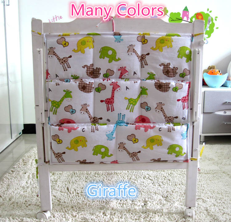 Promotion! Kitty Mickey 62*52cm Diapers organizer baby bed hanging bag portable storage bedding set(China (Mainland))