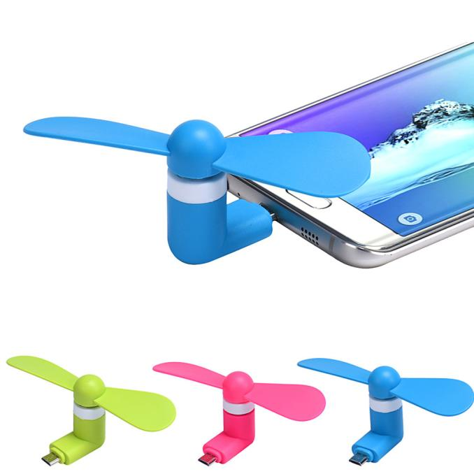 2016 New Portable Super Mute USB Cooler Cooling Mini Fan For Android Cell Phone Samsung Xiaomi Huawei HTC Phones(China (Mainland))